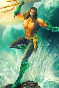 1125x2436 Aquaman Arts New