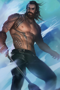 540x960 Aquaman Artwork New