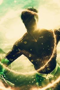 720x1280 Aquaman Dc Artwork 4k