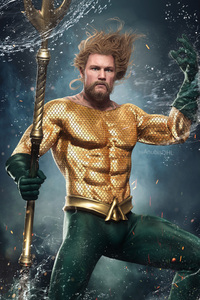 Aquaman Digital Artwork