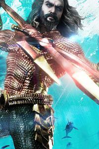 1125x2436 Aquaman Hero 2020