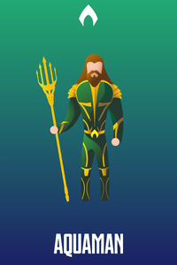 Aquaman Illustration 4k