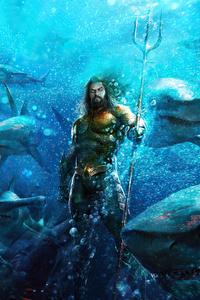 360x640 Aquaman In Ocean