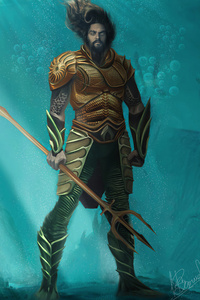 540x960 Aquaman In Water