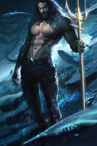 1125x2436 Aquaman Jason Momoa 2020
