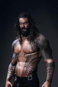 1080x2280 Aquaman Jason Momoa 4k