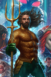 540x960 Aquaman Mera 4k Artworks