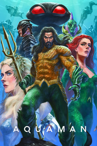 1125x2436 Aquaman Mera Artwork 4k