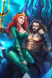 Aquaman Mera Fan Art