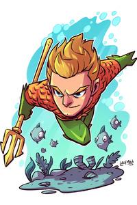 Aquaman Minimal 4k