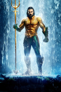 320x480 Aquaman Movie 10k