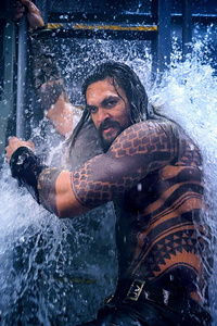 320x480 Aquaman Movie 2018