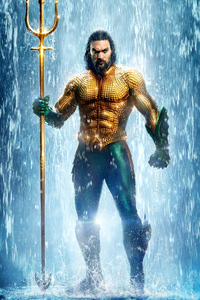 2160x3840 Aquaman Movie 2018 New Poster