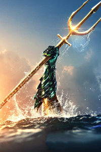 1080x2280 Aquaman Movie Brand New Poster