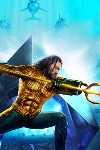 540x960 Aquaman Movie New Poster 2018