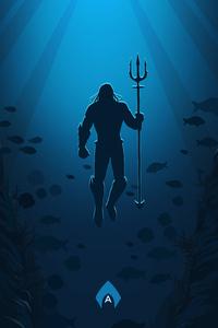 Aquaman Movie Poster Art