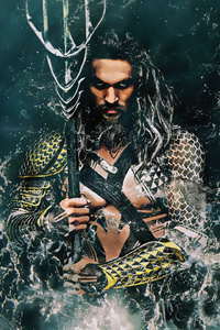 320x480 Aquaman Movie