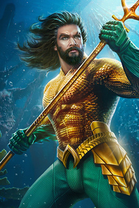 1080x1920 Aquaman Newart King