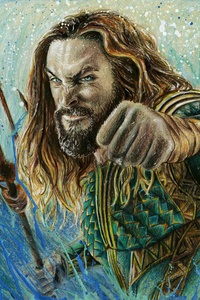 Aquaman Portrait