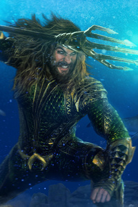 1080x2280 Aquaman Protector Of The Oceans