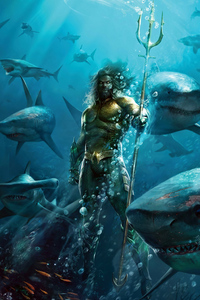 540x960 Aquaman Under Water