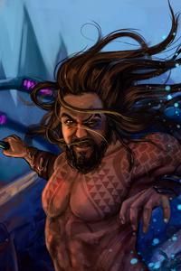 Aquaman Underwater Art