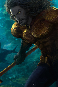 Aquaman Underwater Artwork
