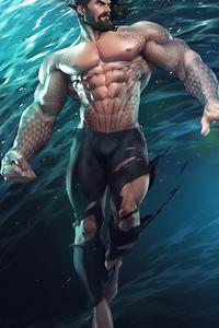 Aquaman Underwater New Art