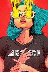 Arcade Girl 4k