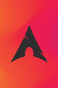 2160x3840 Arch Liinux 4k