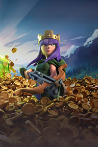 240x400 Archer Queen Clash Of Clans