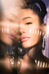 1080x2160 Ariana Grande Allure Magazine 2021 4k