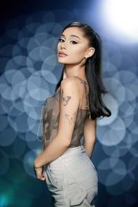1080x2160 Ariana Grande The Voice Season 21 Photoshoot