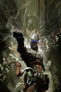 1440x2960 Arkham Knight Cover Art