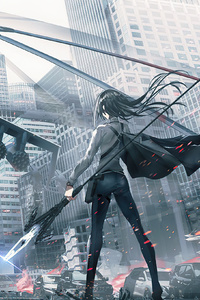 Arknights Anime Game Girl 5k