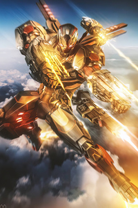 1280x2120 Armor Wars Tv Series James Rhodes As War Machine 4k