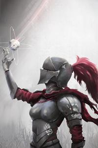 1440x2960 Armor Women 4k