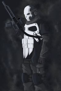 Armored Punisher Artwork