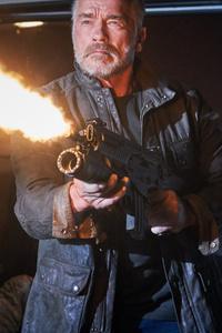 Arnold Schwarzenegger In Terminator Dark Fate 5k