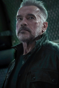 240x400 Arnold Schwarzenegger In Terminator Dark Fate