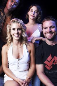 Arrow Cast In Comic Con 2017