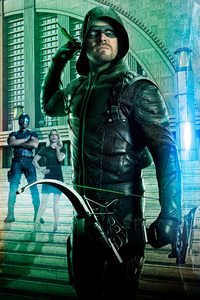 480x800 Arrow Season 5 Poster 4k