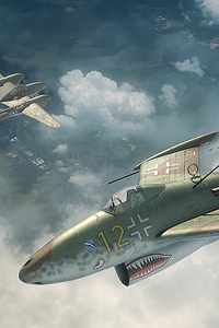 640x960 Arrow War Planes 4k