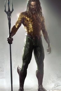 1080x2160 Art Aquaman 4k New