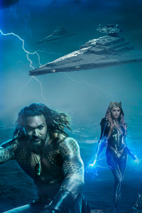Art Aquaman And Mera