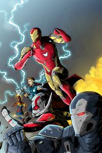 Art Avengers Endgame