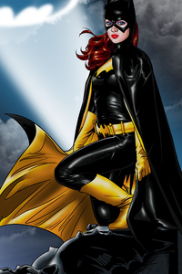 Art Batgirl 4k