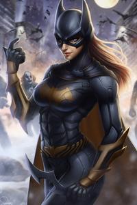 Art Batgirl New