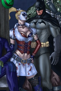 Art Batman Arkham Asylum