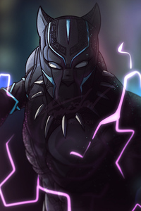 320x480 Art Black Panther New